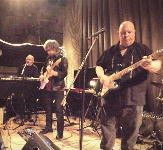 Mike Kelley, Joe Mele and  Mark Emanatian of the Ernie Williams Tribute Band
