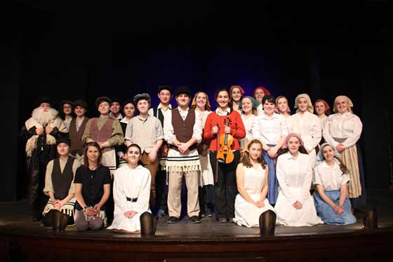 "The cast of ""Fiddler on the Roof"""