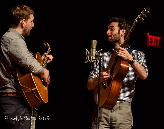 Chris Eldridge and Julian Lage