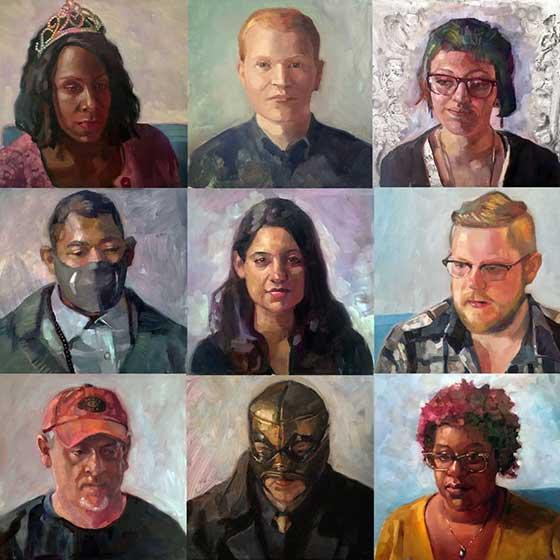 Portraits by Carl Grauer @ 510 Warren Street