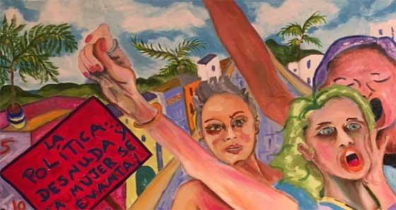 Paintings by Roxanna Melendez @ Martinez Gallery