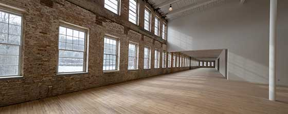 MASS MoCA's Building 6 opens to the public on Sunday, May 28.