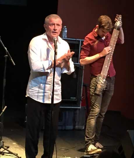Carl Palmer and Simon Fitzpatrick