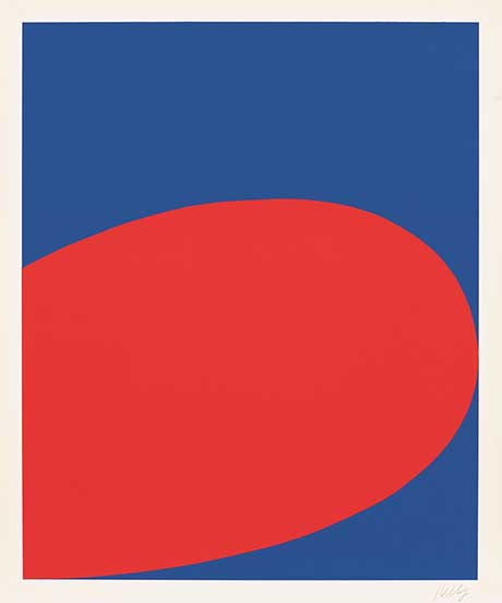 Ellsworth Kelly: Red Blue @ The Hyde