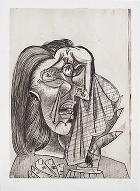 Pablo Picasso: The Weeping Woman I @ The Clark