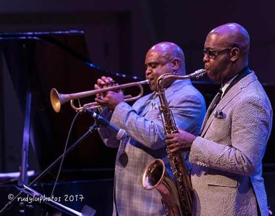Terrell Stafford and Tim Warfield