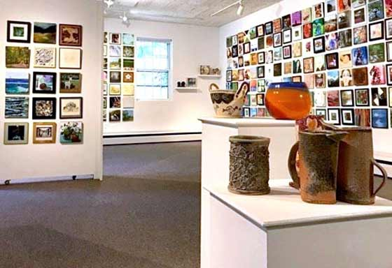 10x10 Exhibition @ Saratoga Ars