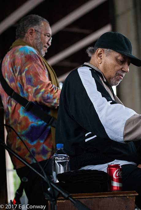 George Porter, Jr. and Art Neville