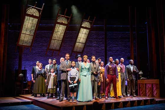 The full cast of RAGTIME (photo: Daniel Rader)