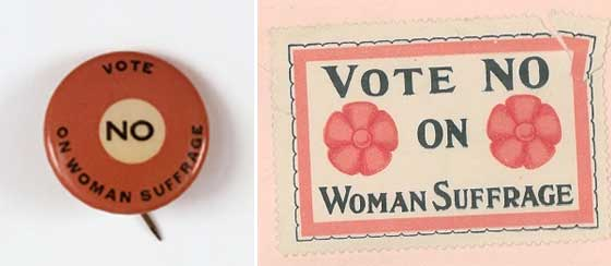 Albany & Anti-Suffrage @ Albany Institute of History and Art