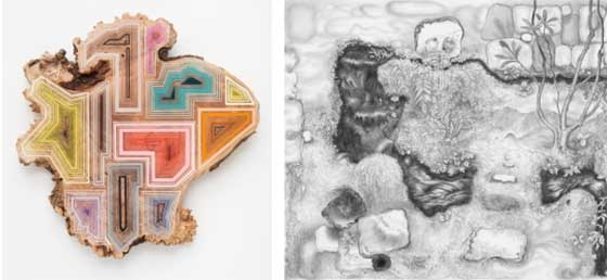 Works by Jason Middlebrook and Joshua Marsh @ Jeff Bailey Gallery
