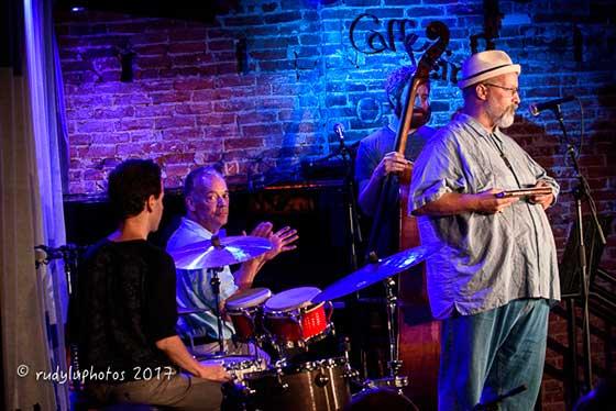 Michael Eck with the Chuck Lamb Quartet