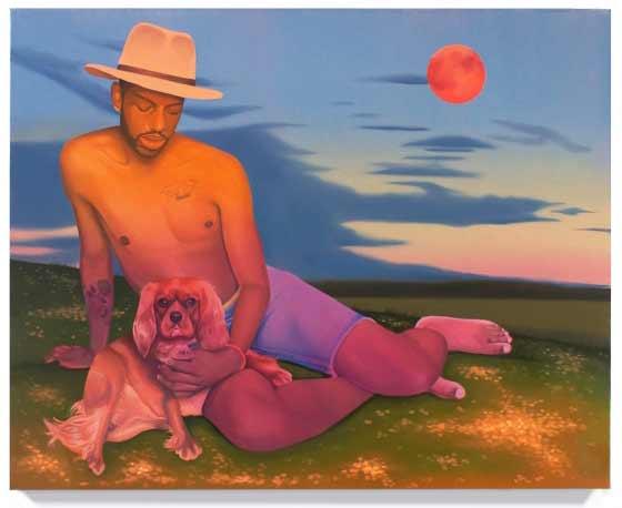 Danny Ferrell: River Moon @ Jeff Bailey Gallery