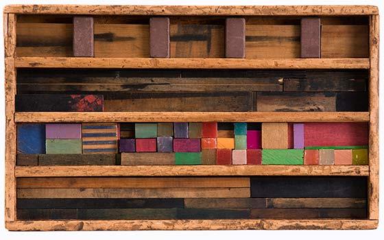 Constructions by La Wilson @ John Davis Gallery