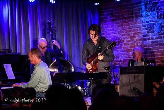 Chuck Lamb, John Menegon, Mike Moreno and Pete O'Brien