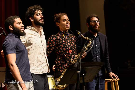 The Melissa Aldana Quartet