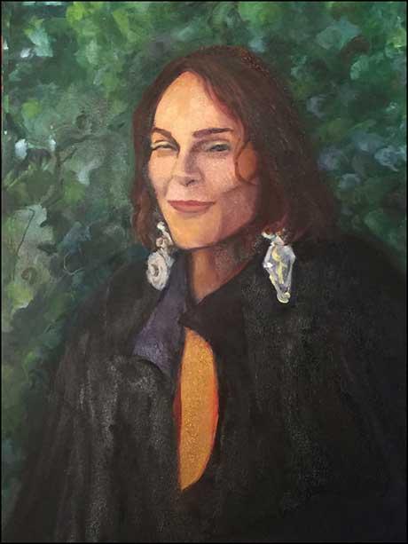 Paintings by Karen Roth @ 510 Warren Street Gallery