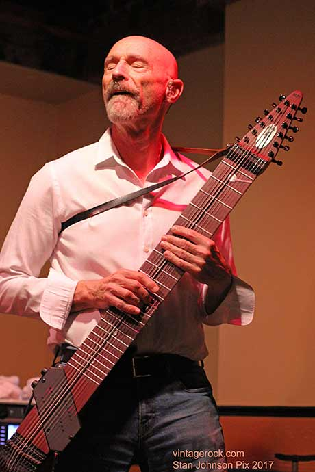 Tony Levin with the Stick Men @ the Van Dyck, 8/12/17