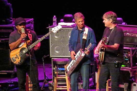 Victor Wooten, Chick Corea and Bela Fleck at The Egg, 8/5/17