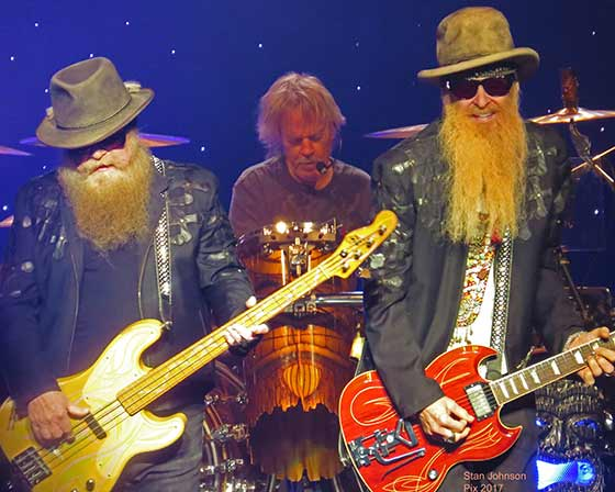 ZZ Top at Proctor's Theater, 2/26/17