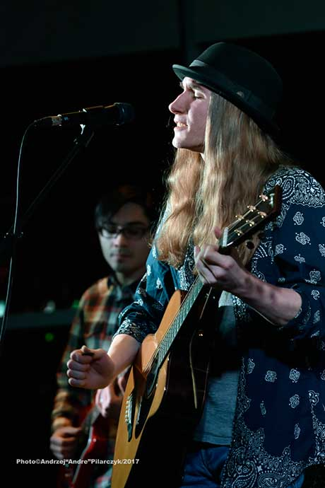 Sawyer Fredericks at the Saratoga Springs City Center