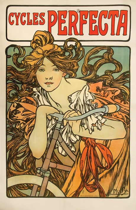 Alphonse Mucha: Cycles Perfecta @ The Hyde Collection