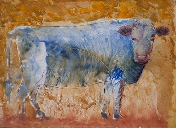 Works by Elana Goren @ Theo Ganz Gallery