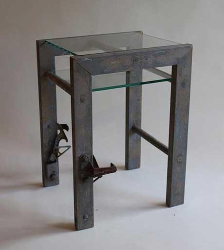Michael Whitney: Ladder Table @ Scarlet Seven Fine Art