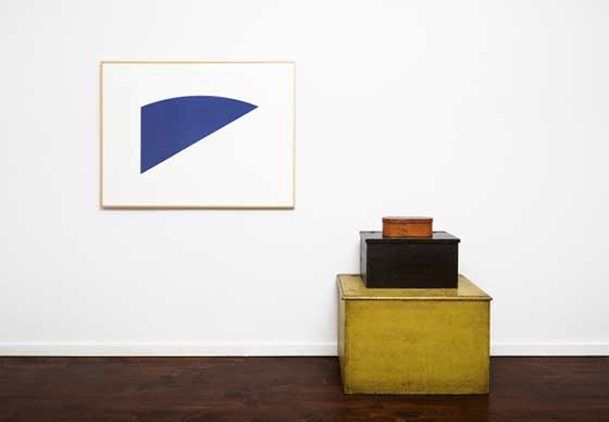 Works by Ellsworth Kelly and Jack Shear @ Jeff Bailey Gallery