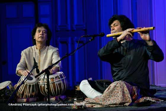 Zakir Hussain & Rakesh Chaurasia