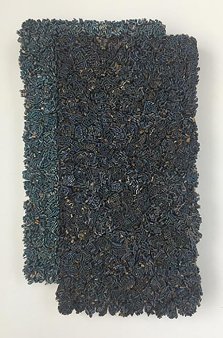 Erin Walrath: Unto (the blue study) @ John Davis Gallery