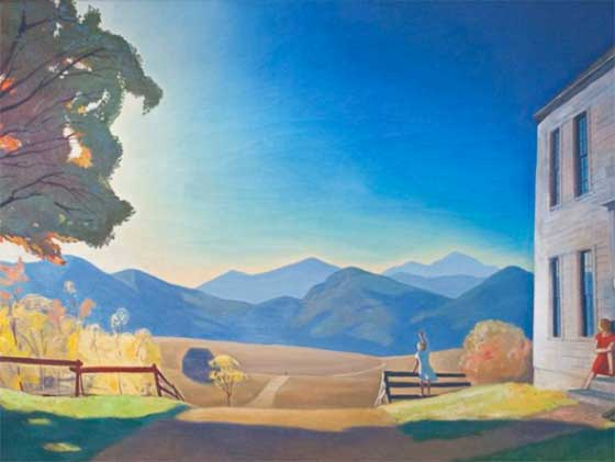 Rockwell Kent: December Eighth @ The Hyde Collection