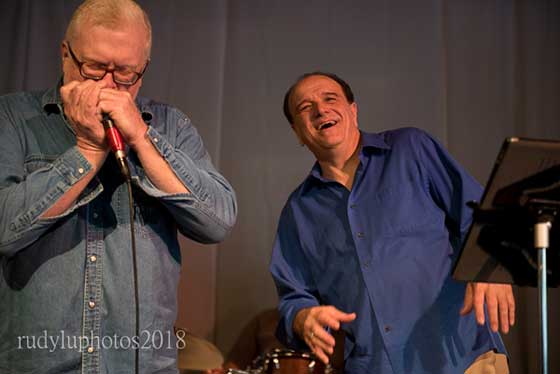 """Tommy """"Pipes"""" McDonnell and  Rob Paparozzi"""