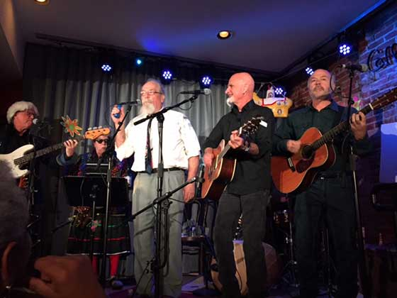 Don Young. Addie & Olin. Dave Maswick and Joel Brown play Beatles music.