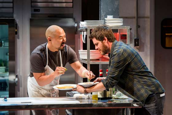 Hoon Lee (Harry) and Michael Esper (Mike) (photo: Daniel Rader)