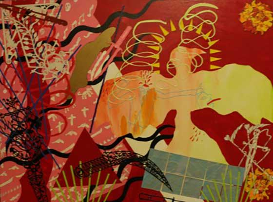 Works by Arthur Sordillo @ Thompson Giroux Gallery