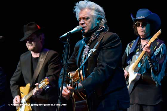 Roger McGuinn, Marty Stuart and Kenny Vaughan