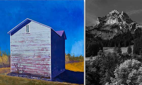 Works by Marie Cole and Gilbert Rios @ Tivoli Artists Gallery