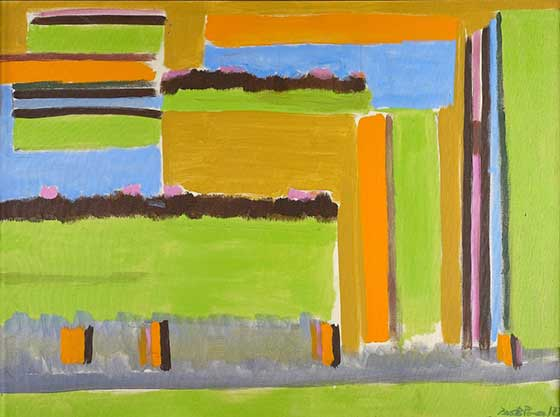 Betty Parsons: Maine II @ Art Omi