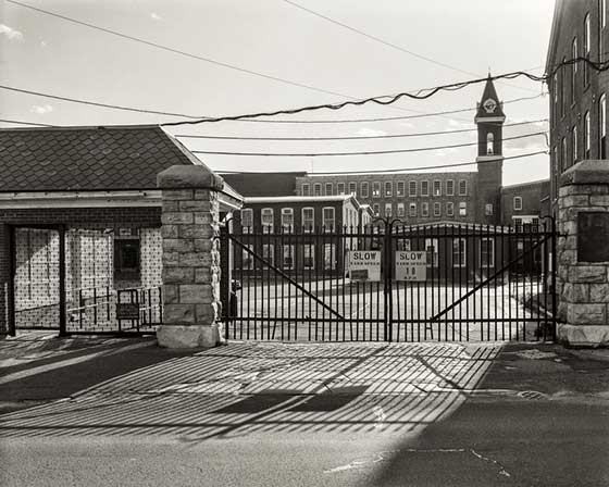 Nicholas Whitman: Main Gate @ MASS MoCA